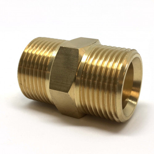 "3/4""M x 3/4""M BRASS ADAPTER"