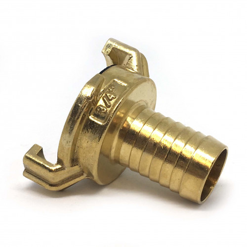"BRASS CLAW QUICK COUPLER WITH 3/4"" HOSE TAIL"