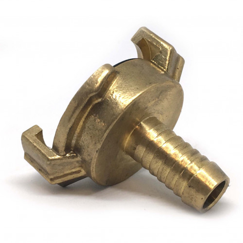 "BRASS CLAW QUICK COUPLER WITH 1/2"" HOSE TAIL"