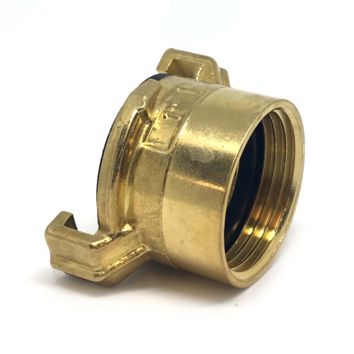 """BRASS CLAW QUICK COUPLER WITH 1"""" MALE THREAD"""