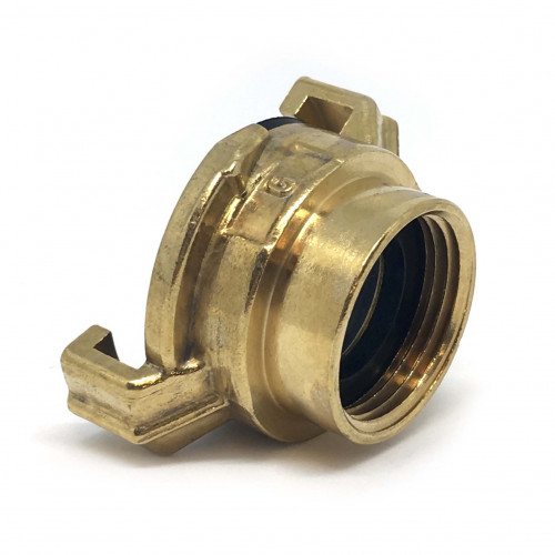 "BRASS CLAW QUICK COUPLER 3/4"" FEMALE THREAD"