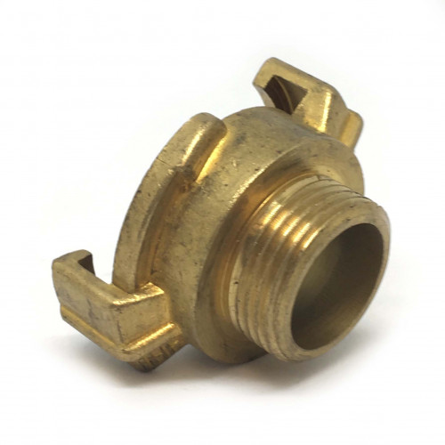 "BRASS CLAW QUICK COUPLER WITH 3/4"" MALE THREAD"