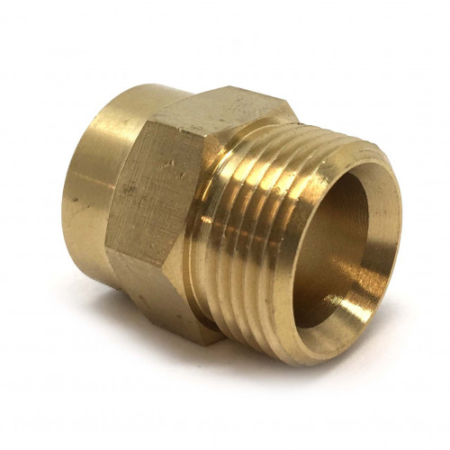 22MM/15MM BRASS ADPTOR 3/8 FEMALE