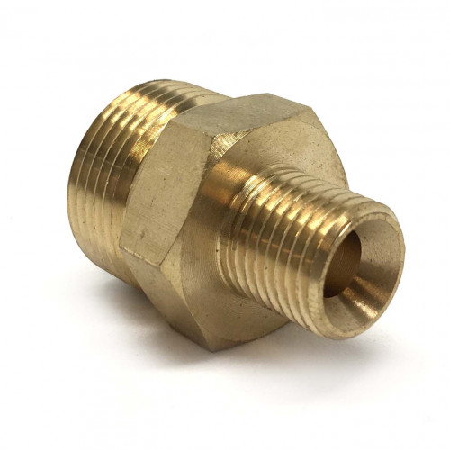 22MM/15MM BRASS ADPTOR 1/4 MALE