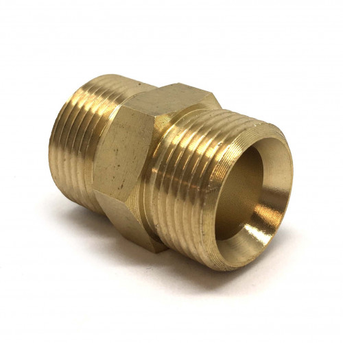 22 MM MALE / MALE ADAPTOR