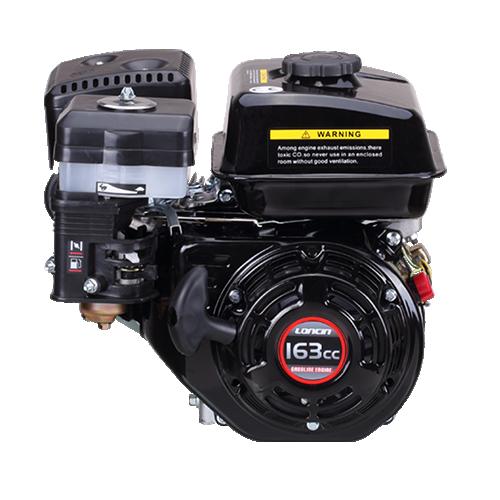 Loncin G160F-P 19MM Parallel Shaft Engine Recoil start