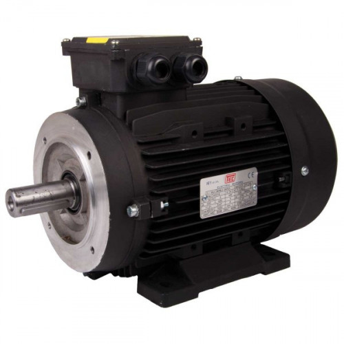 TEC 11 KW,15HP Solid Shaft Motor 132M Frame