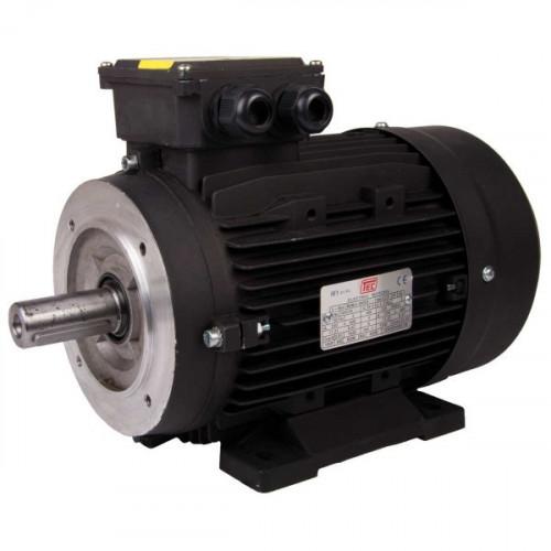 TEC 11 KW,15HP Solid Shaft Motor 132M Frame