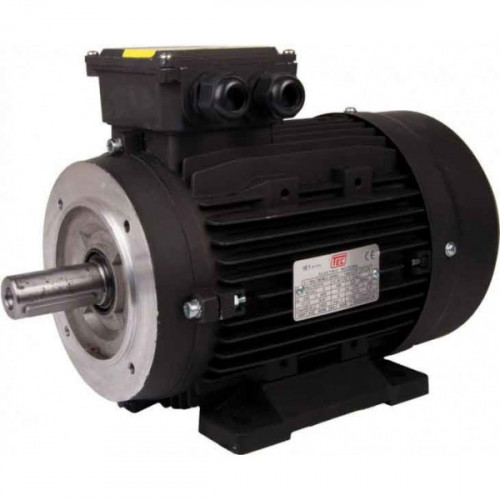 TEC 15KW-20HP Aluminium Motor 4 Pole Solid Shaft