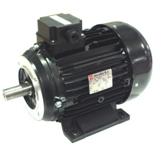 Nicolini 3 KW/4HP Single Phase with 28mm Solid Shaft