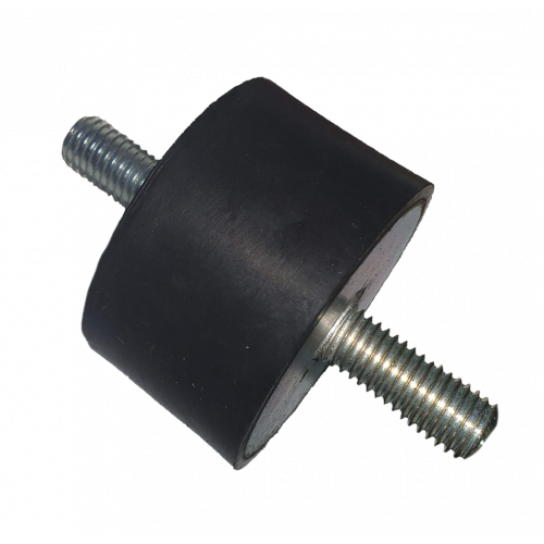 50 x 30mm M10x25 Male Rubber Mounting