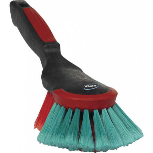 VIKAN 524652 HAND BRUSH WITH RUBBER EDGE