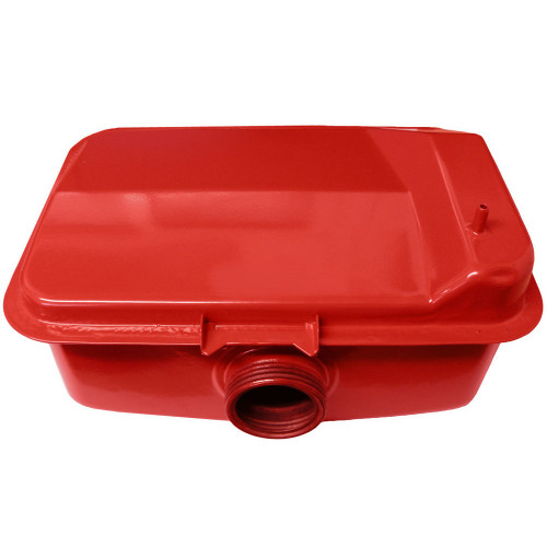 yanmar fuel tank red