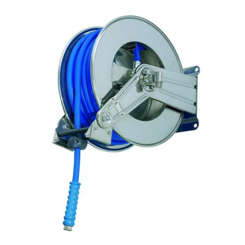 RAMEX AV1000 STAINLESS STEEL AUTO-REWIND 15MTR 3/8 REEL [NO HOSE INC]