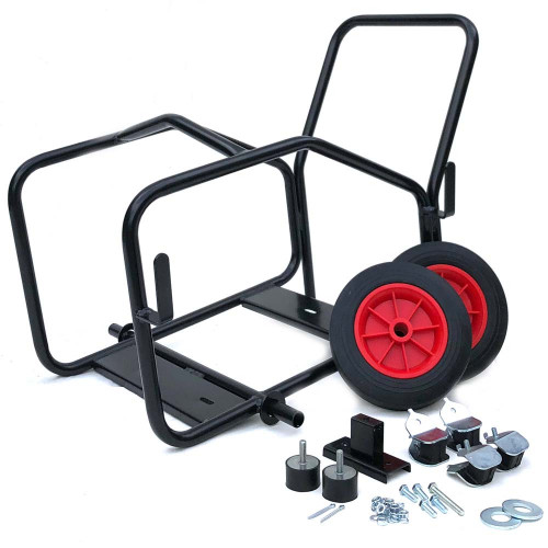 SMALL TROLLEY FRAME COMPLETE [SOLID WHEELS]