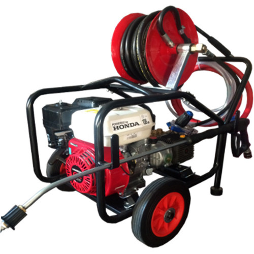 6.5 HP HONDA WASHER LW PUMP FULL FRAME, REEL 20M HOSE