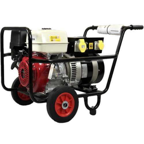GX 390 honda E/START 13 hp, 4.5 kw, 5.5 kva generator, top box(4SOC)