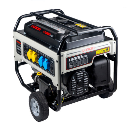 10.5 KW LONCIN GENERATOR, E/START, TROLLEY 48L FUEL TANK