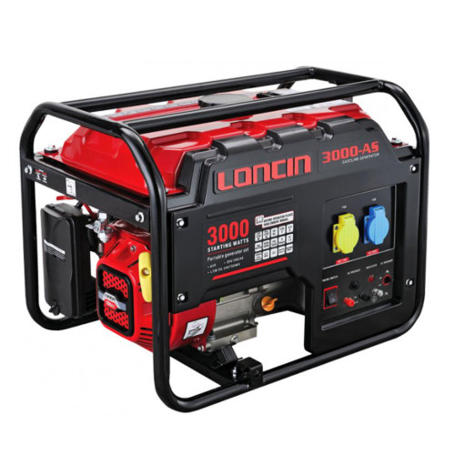 LONCIN LC 3000 2.3KW GENERATOR L/RUN AVR