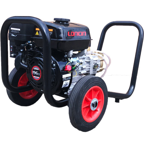 6.5HP LONCIN E/START, 2200PSI @ 14LPM, GB PISTON PUMP, LP FRAME