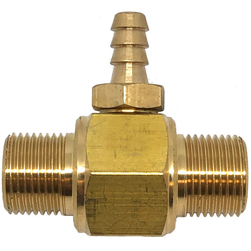 FIXED 2.1 INJECTOR 3/8 M/M